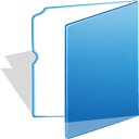 blue folder blue folder